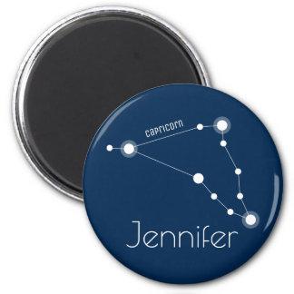 Imán Constelación personalizada del zodiaco del