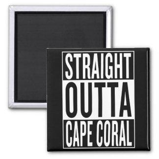 Imán coral recto del cabo del outta