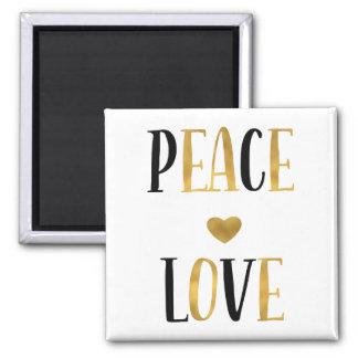Imán Corazón del amor de la paz