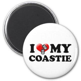 Imán Corazón I mi Coastie