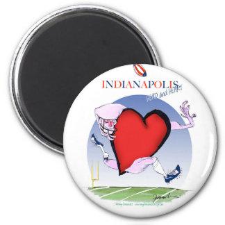 Imán corazón principal de Indianapolis, fernandes tony