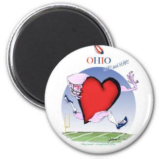Imán corazón principal de Ohio, fernandes tony