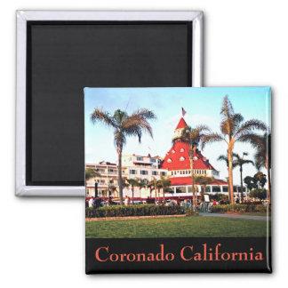 Imán Coronado California de la foto