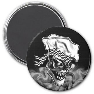 Imán Cráneo 5 del cocinero que fuma