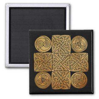 Imán Cruz de Knotwork del Celtic