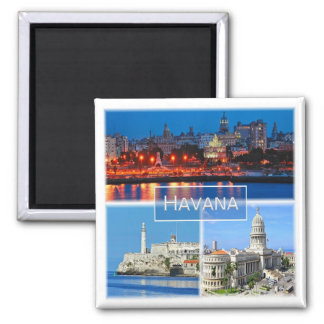 Imán CU * Cuba - La Habana