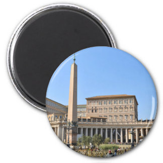 Imán Cuadrado en Roma, Italia