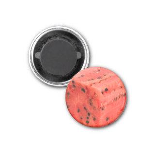 Imán Cubo rojo dulce fresco original de la comida de la