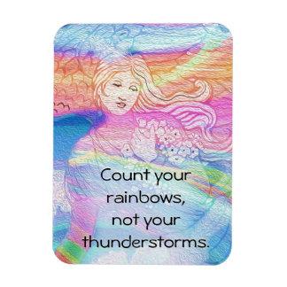 Iman Cuente sus arco iris, no sus tempestades de