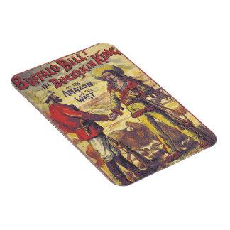 Imán de Buffalo Bill del vintage