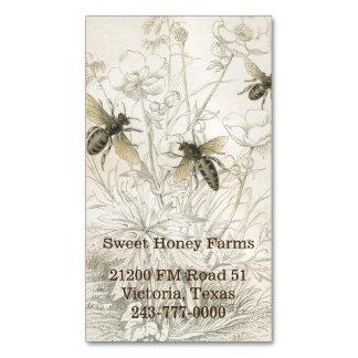 Imán de encargo del negocio de las abejas de la tarjetas de visita magnéticas (paquete de 25)