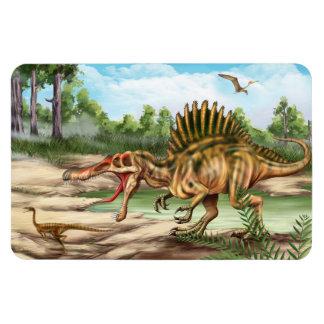 Imán de Flexi de la especie del dinosaurio