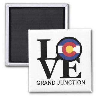 Imán de Grand Junction Colorado del AMOR