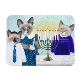 Imán de Jánuca de los gatitos
