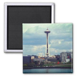 Imán de la aguja del espacio de Seattle
