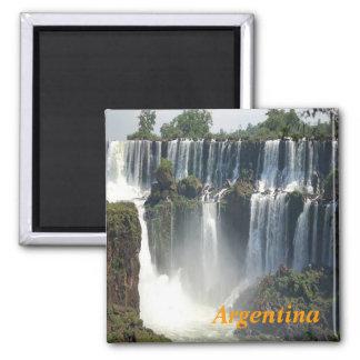 Imán de la Argentina de las cascadas de Iguazu