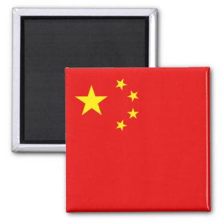Imán de la bandera de China