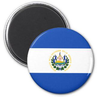 Imán de la bandera de El Salvador