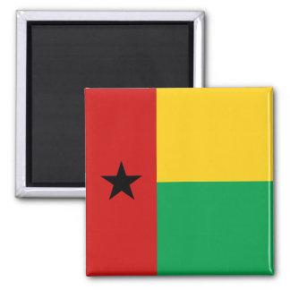 Imán de la bandera de Guinea-Bissau