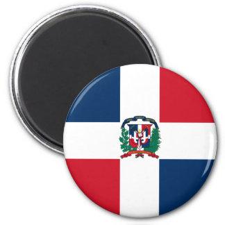 Imán de la bandera de la República Dominicana