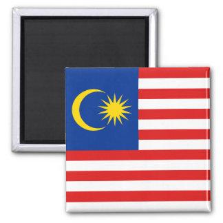Imán de la bandera de Malasia