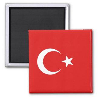 Imán de la bandera de Turquía