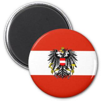 Imán de la bandera del estado de Austria
