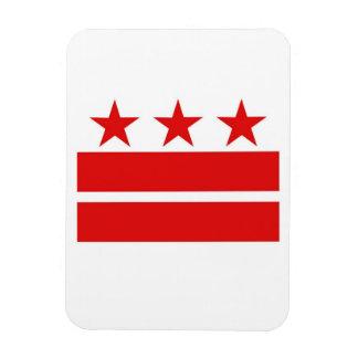 Imán de la bandera del Washington DC