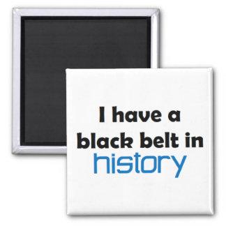 Imán de la correa negra de la historia