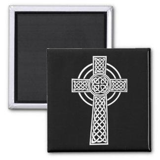 Imán de la cruz céltica