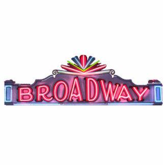 Imán de la escultura de Broadway Escultura Fotográfica