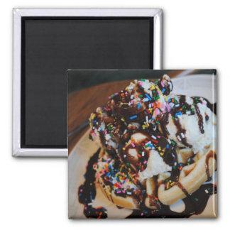 Imán de la galleta del helado