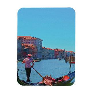 Imán de la góndola de Venecia