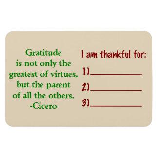 Imán Imán de la gratitud