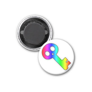Imán de la llave maestra 4 del arco iris