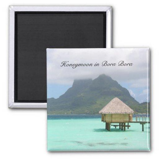 Imán de la luna de miel de Bora Bora