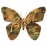 Imán de la mariposa del remiendo del Balinese Esculturas Fotográficas