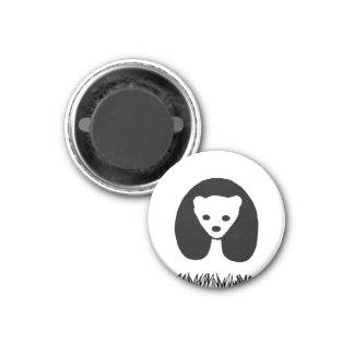 Imán de la panda
