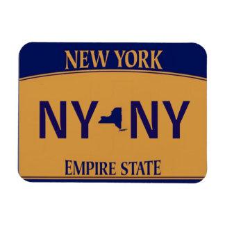 Imán de la placa de NY