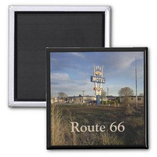 Imán de la ruta 66