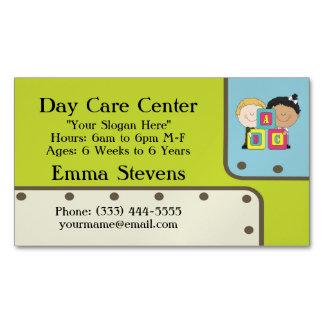 Imán de la tarjeta de visita de los niños de ABC Tarjetas De Visita Magnéticas (paquete De 25)