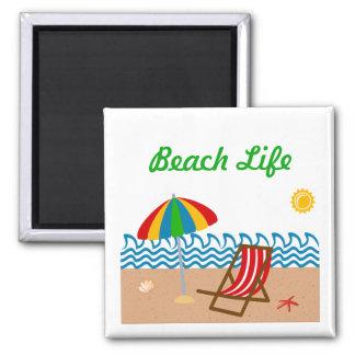 Imán de la vida de la playa