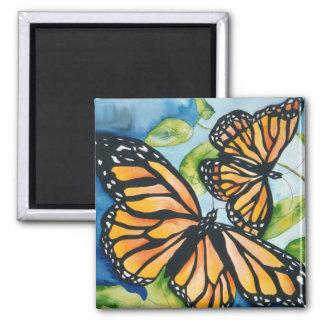 Imán de las mariposas de monarca