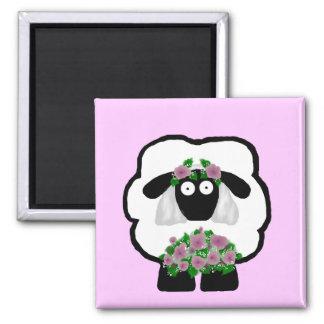 Imán de las ovejas de la novia