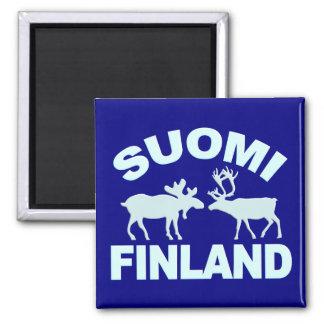 Imán de los alces y del reno de Finlandia