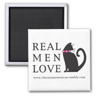 Imán de los del MED de TCMR gatos reales del amor
