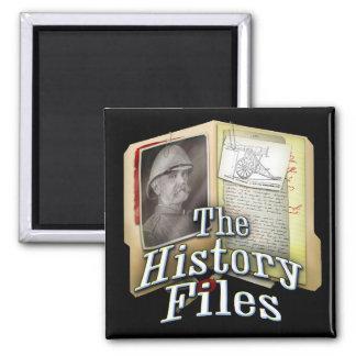 Imán de los ficheros de historia