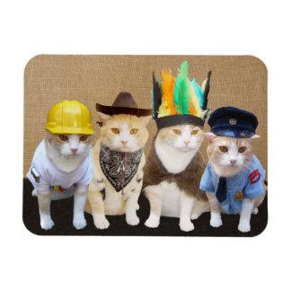 Imán de los gatitos del pueblo