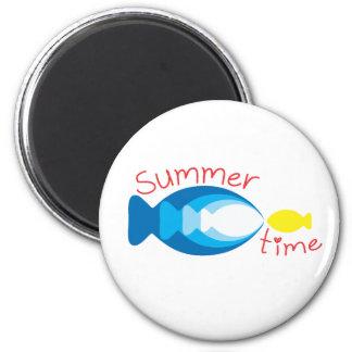 Imán de los pescados de mar del tiempo de verano