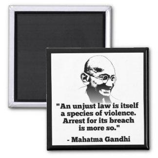 Imán de Mahatma Gandhi